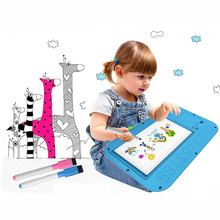2017 New Children Learning Machine Drawing and Points to read Learning multi-function Toy Gift For Kid Brinquedos Educativos