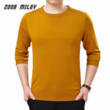 2016 New Fashion Casual Sweater O-NECK Long Sleeve Mens Knitted Pullovers Jumper Winter European Style Big Size M-XXXL