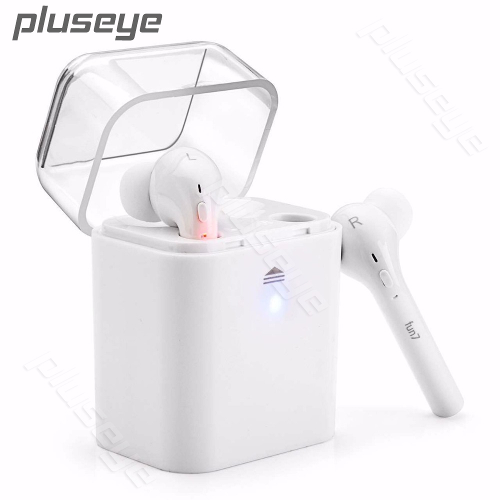 Twins Wireless headset  Bluetooth V4.1 Earphone Sports Headset In-Ear Earpiece With Mic for iPhone Samsung Xiaomi Huawei<br>