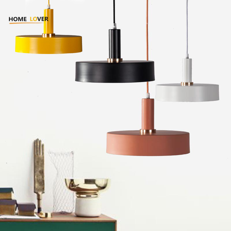 Modern Art LED Pendant Lights for indoor lighting AC 85-260V Simplicity Pendant Lamp lustres de sala Lighting Fixtures hanglamp<br>