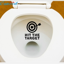 Fashion Heaven 12*11CM DIY Arrow&Target Toilet Seat Bathroom Sticker Home Refrigerator Wall Decal Art,jul 12