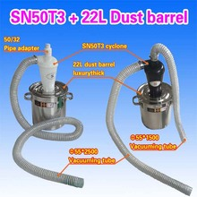 Cyclone SN50T3 + 22L Dust barrel (Luxury stainless steel thickening) 1 piece(China)