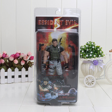 "7"" 18cm Resident Evil 5 Chris Game Action Figure 1/7 scale painted figure Chris Redfield Doll PVC ACGN figure Garage Kit Toy"