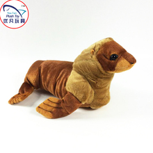 Realistic design stuffed animal sea lion plush toy for child soft feeling 48# kids playing toy