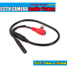 Audio Surveillance Wide Range Mini CCTV Microphone for Security Camera(China)