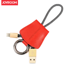 JOYROOM sling Genuine leather mobile for Lightning+Micor phone cables Data line Charger Type-C USB Cable For Apple samsung