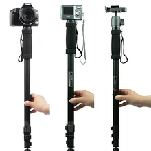 "New Weifeng Tripod Monopod WT1003 Camera Tripod Lightweight 67"" Camera Stand For Canon Eos Nikon Sony Fuji Olympus All DSLR(China)"
