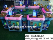 Amusement Arcade Video Games Machines Fish Hunter Arcade Games