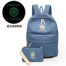 Mochilas Feminina Women Backpack Composite Bag Rucksack Luminous Canvas Teenager School Bags Travel Bags Shopping Backpacks H860