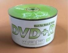 Wholesale 50 discs A+ Bananas Green Flower 16x 4.7 Blank DVD+R