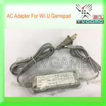 Brand NEW Power Supply Adapter For Wii U Gamepad,Replacement Gray AC Adaptor For Wii U Gamepad!
