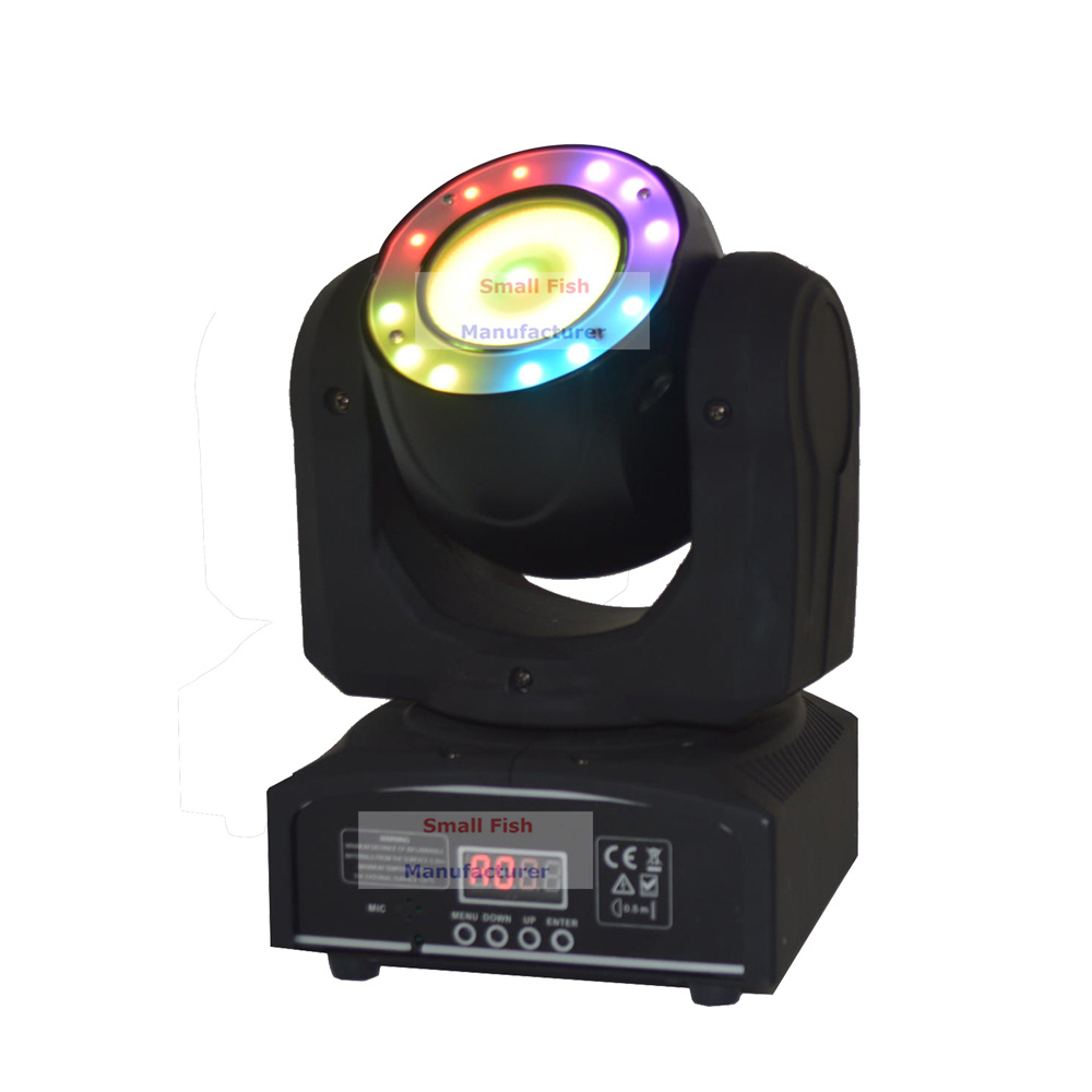 Mini 40W Led Moving Head Light O-R-S-A-M- LED Lamp RGBW Quad Color Beam Effect Lights For Professional Stage Dj Events Lighting