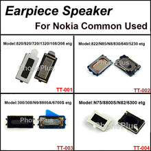 4Models Total 200pcs Earpiece Speaker Receiver For Nokia Lumia 822 1020 Most Model Compatible Suitable Common Used With Screws(China)
