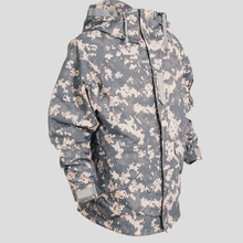 SouthPlay Spring & Autumn Season Waterproof Coat Rain Military Khaki Jackets For Wind Stopper