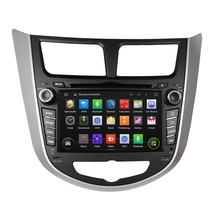 "7"" Android Car DVD Player with TV/BT GPS 3G WIFI,Car PC/multimedia Audio/Radio/Stereo for Hyundai verna accent solaris 2011 2012(China)"