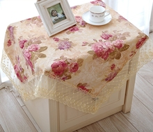 Quality rustic cloth dining table cloth table cloth bedside cabinet cover bedside cabinet cloth universal cover towel