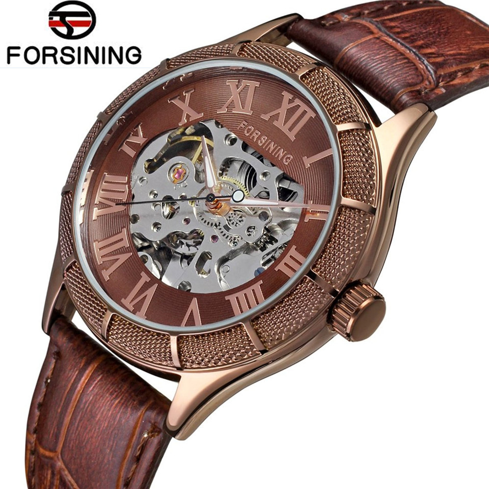 Cassic FORSINING Classic Watch Man Skeleton Watches Auto Mechanical Wristwatch Free Ship<br><br>Aliexpress
