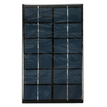 Hot Sale 6V 2W Solar Panel Fotovoltaico USB Battery Charger Polycrystalline Solar Cells For MP3 MP4 Cellulari Computer Tablet(China)