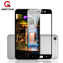GerTong Full Cover Tempered Glass Xiaomi Redmi 4X 4A Note 5A Prime Y1 Lite MiA1 Mi5X Mi6 Mi5C Mi5S Mi5 Glass Protect Film