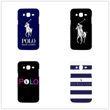Striped Polo Brand Mobile Phone Cover Case for samsung galaxy S3 S4 mini S5 S6 Note 2 3 4 5 Hard plastic Cover Case