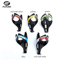 FUTURE 2 pcs/lot carbon fibre bike water bottle holder cage MTB road bikes bottle cage carbon bidon cycling  bicycle accessories
