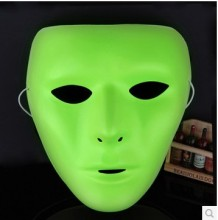 Halloween Luminous Face Mask Hip-Hop GHOST DANCE JabbaWockeeZ Mask For Men and Women(China)