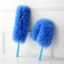 Can be bent dusters household cleaning brush cleaning dust car with clean feather duster(China)