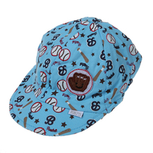 Baby Boy Girl Kid Toddler Infant Hat Peaked Baseball Beret Cap (Blue)(China)