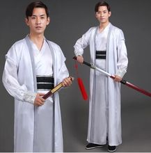 white han fu ancient chinese warrior costume for men han dynasty costume for men halloween warrior cosplay chivalrous person