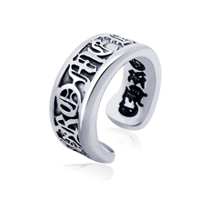 Retro Vintage Stainless Steel Unique Ancent Roman Letter Pinky Rings For Men 2017 New Fashion Mens Jewelry Hot Sell DLQ(China)