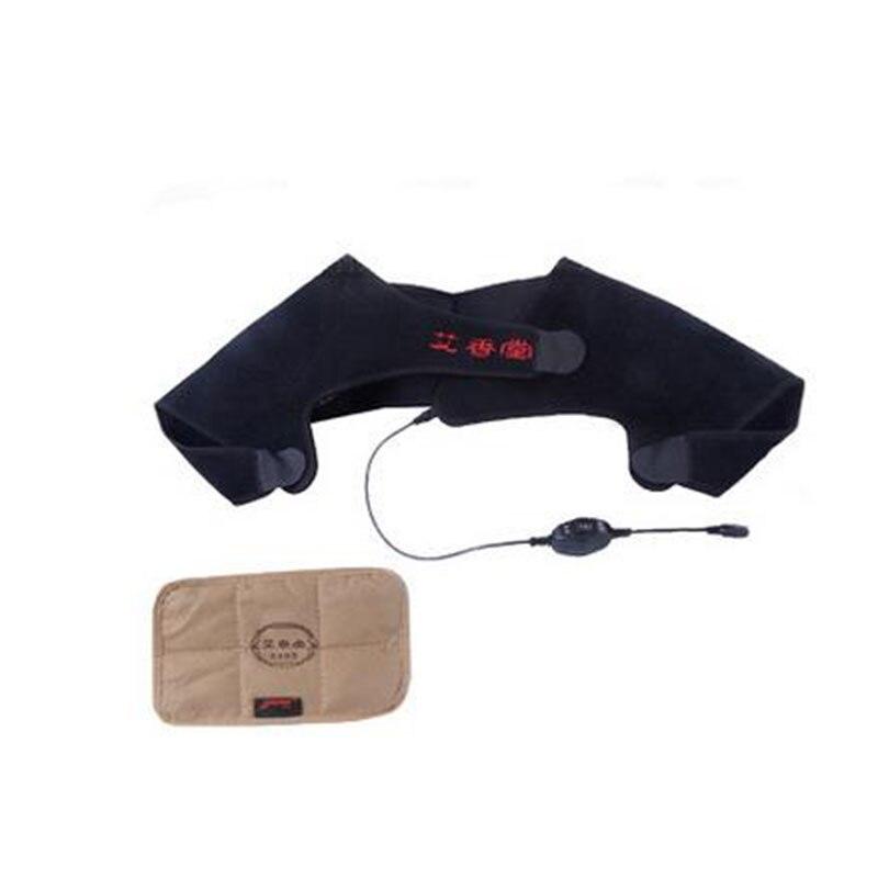 Electric heating shawl electrothermal shoulder heat moxibustion week of shoulder joint pain massage gear-amj52<br>