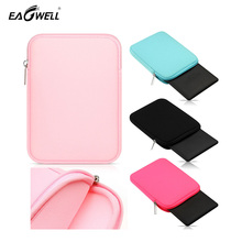 "Soft Tablet Sleeve Bag Case For Amazon Kindle 6"" Paper white/Kindle Kpw3 Fashion Solid Zipper Sponge Sleeve Carry Pouch Cover(China)"