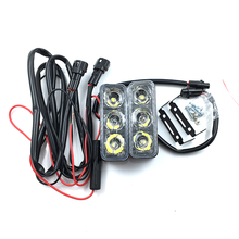 High Power 2Pcs/Set 9W LED Car Lights Waterproof DC 12V DRL Daytime Running Light Auto Lamp fog light White 6000K(China)