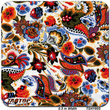 iTAATOP TSHY885 New deisgn Top quality pattern red flower PVA Water Transfer Printing Film Hydrographic Film(China)