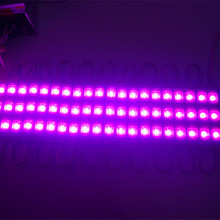 30pcs Red/Green/Blue/White/Warm White/Pink/Yellow LED Modules Waterproof IP65 Led Modules DC 12V SMD 3 Leds Sign Led Backlights