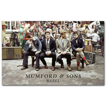 J3265- MUMFORD AND SONS UK ROCK FOLK MUSIC Pop 14x21 24x36 Inches Silk Art Poster Top Fabric Print Home Wall Decor
