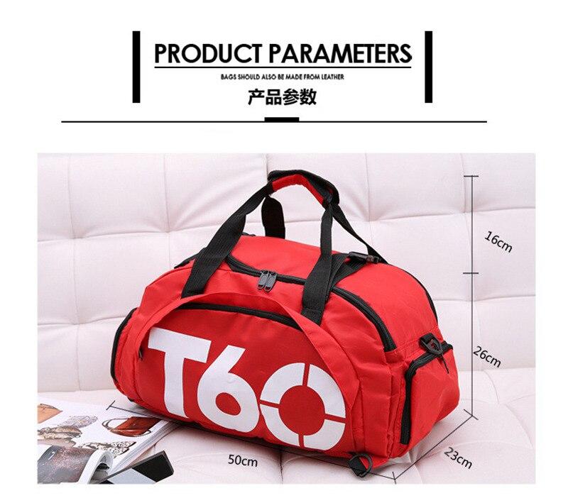 Waterproof Gym Sports Bags (2)