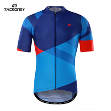 TACRONEY Aaro Mens Cycling Jersey 2017 Outdoor Riding Bicycle Jersey Maillot Ciclismo Bombre Team Bicicleta Road Bike Sportswear(China)