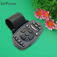 MVpower Durable 1pcs Universal Steering Wheel IR Remote Control for Car DVD CD MP3 16 keys High capacity memory(China)