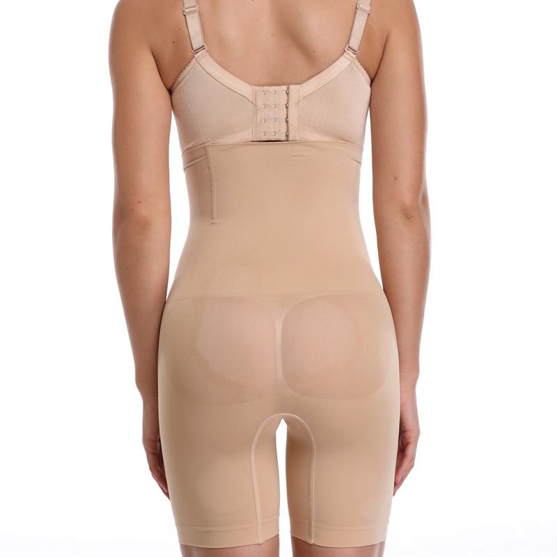NINGMI Slimming Pants Women High Waist Trainer Tummy Control Panties Thigh Butt Lifter Slim Leg Hot Body Shaper Firm Power Short 17