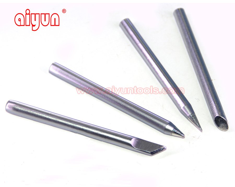 4pcs Solder iron Tip Soldering Bits Replace Tips Electric Soldering iron BGA tools 40w<br><br>Aliexpress