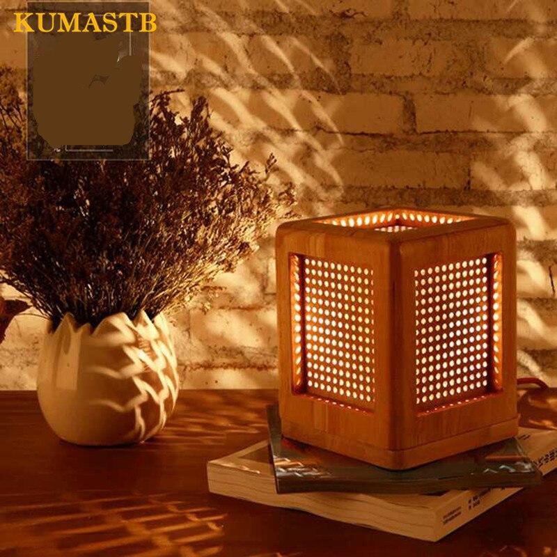 Wood Desk Lamp 4
