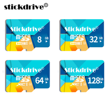 100% Genuine STICKDRIVE micro SDHC 4G 8G 16G 32G micro SD card micro SDXC 64G Memory Card class 10 TF Card For Smartphone&Camera