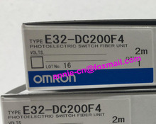 E32-DC200F, E32-DC200F4  2M  New and original  OMRON  PHOTOELECTRIC SWITCH FIBER UNIT