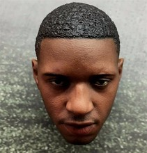 "1/6 Scale Tracy McGrady Head Sculpt Model NBA Basketball Star Headplay For 12"" Male Action Figure Body"