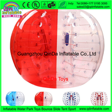 2017 hot selling bubble soccer ball,1.2m inflatable bumper ball with pump
