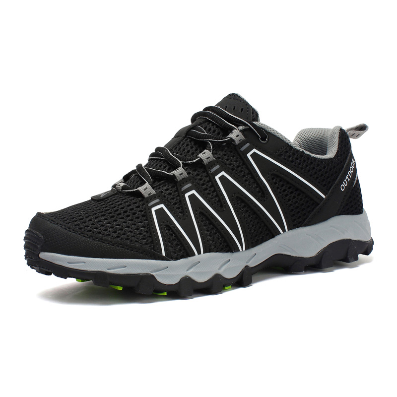 24b7d80adf9d Breathable Mens Hiking Shoes Anti-slip Outdoor Trekking Shoes ...