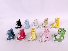 doll shoes canvas shoes 3.8cm (suitable for blyth,pullip,1/6 doll,Tang kou doll )(China)
