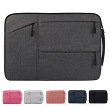 "6 Colors Men Women 11.6-15.6"" Laptop Sleeve Bag Notebook Pouch Tablet PC Handbag for MacBook Air Pro Retina Dell HP Samsung Sony(China)"