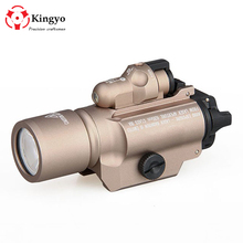 hot sale Surefire LED weapon X400 Handgun Flashlight With Red Laser Sight for rifle scope for hunting